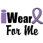 I Wear Violet Ribbon For Me