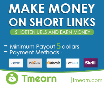 Tmearn - short links and earn money