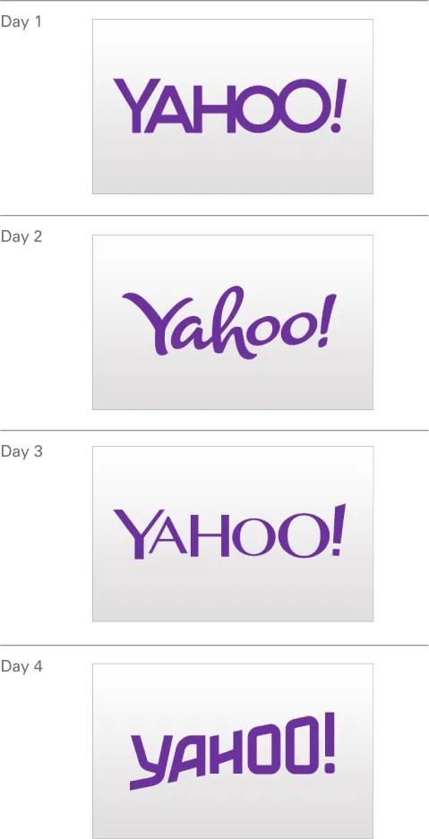 Yahoo Logo Png : yahoo, Yahoo!, Showcases, Thirty, Logos, Design, Logobee