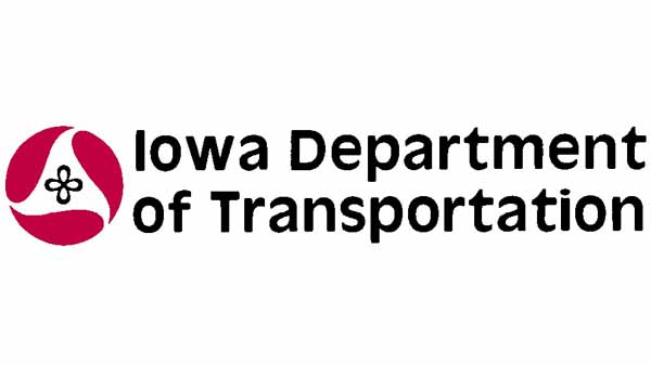 Iowa Department of Transport Logo can't see the road for
