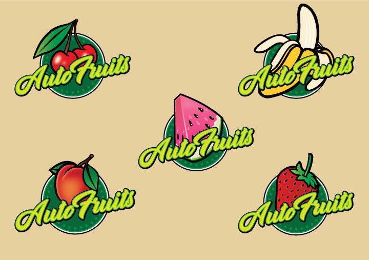 auto fruits brand design