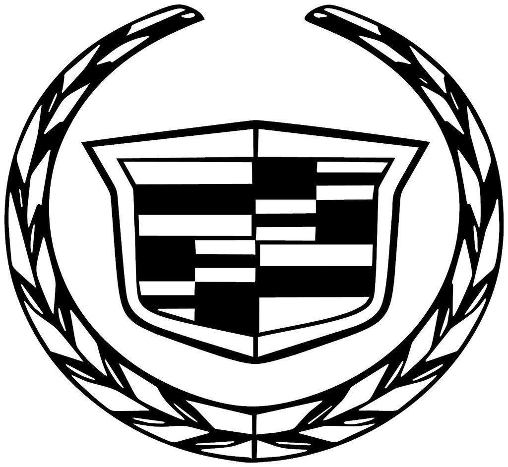 Black Cadillac Logo