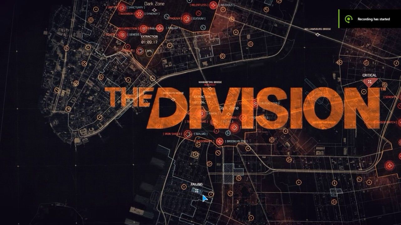 Tom Clancy The Division Map