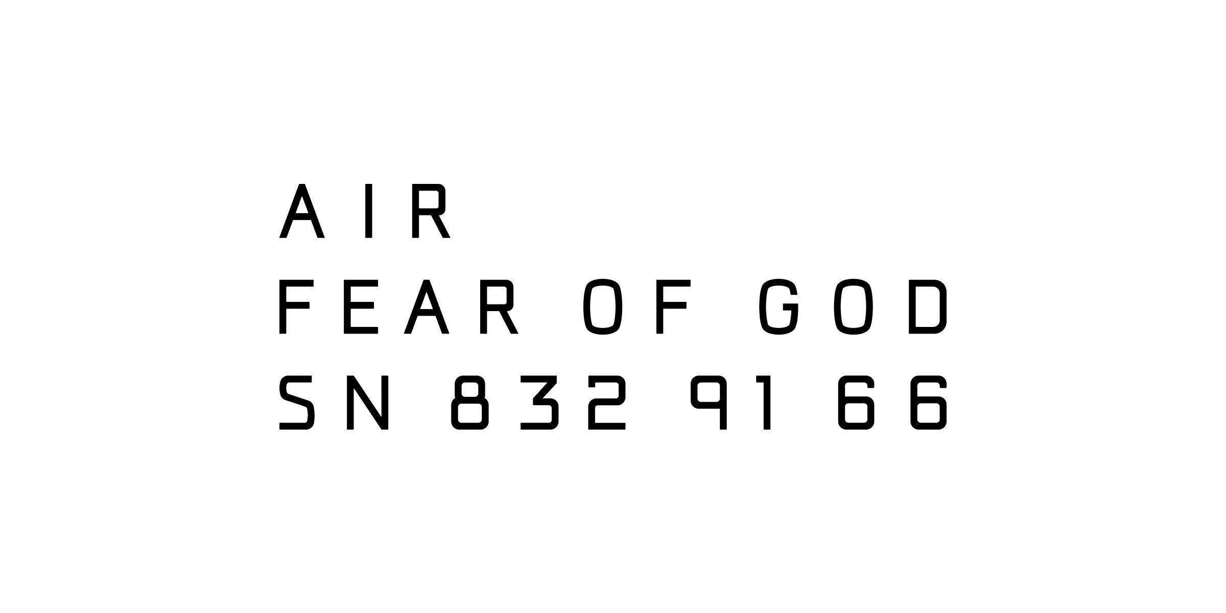 Fear Of God Logo