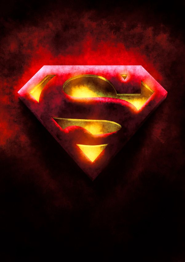 yellow black superman logo