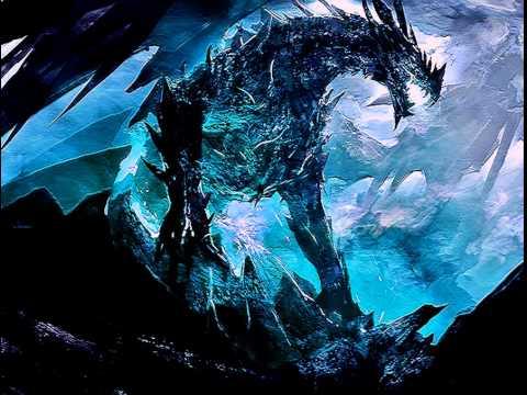 cool ice dragon logo