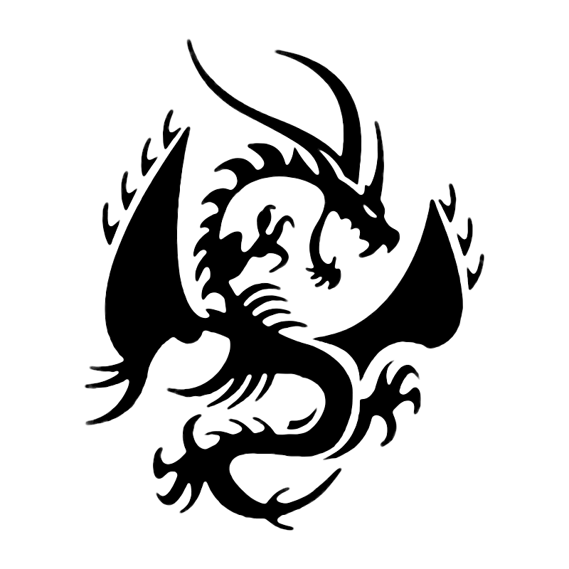 cool dragons logo logodix