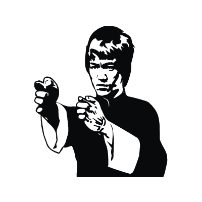 Bruce Lee logo vector in (.EPS, .AI, .CDR) free download