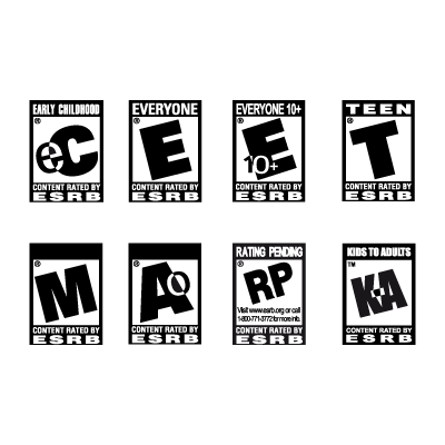ESRB logo vector in (.EPS, .AI, .CDR) free download