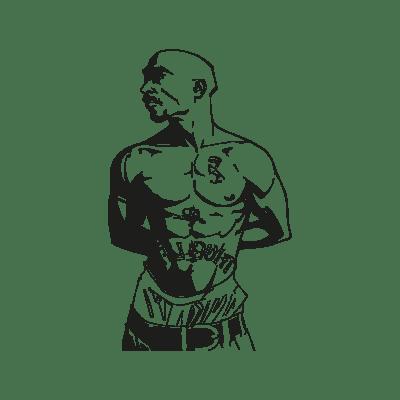 Tupac Shakur vector, Tupac Shakur in .EPS, .CDR, .AI format