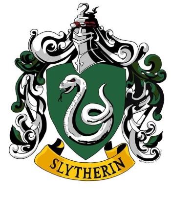 harry potter houses slytherin logo