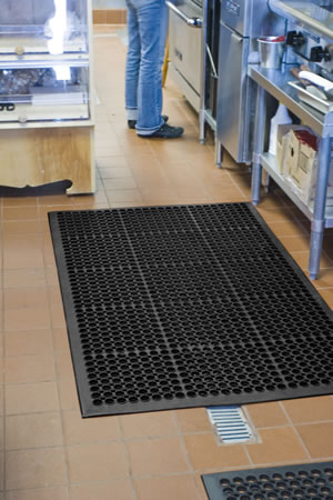 best kitchen mats wall mounted cabinets chef s modular grease resistant utility mat