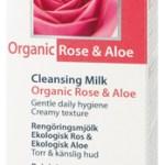 Γαλάκτωμα καθαρισμού με τριαντάφυλλο & αλόη ΒΙΟ