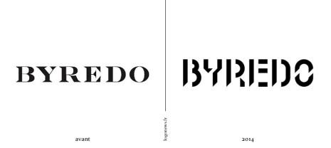 Byredo la marque de parfum change de logo
