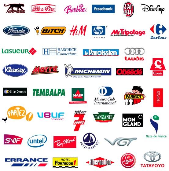 Plus De 60 Détournements De Logos  Logonews