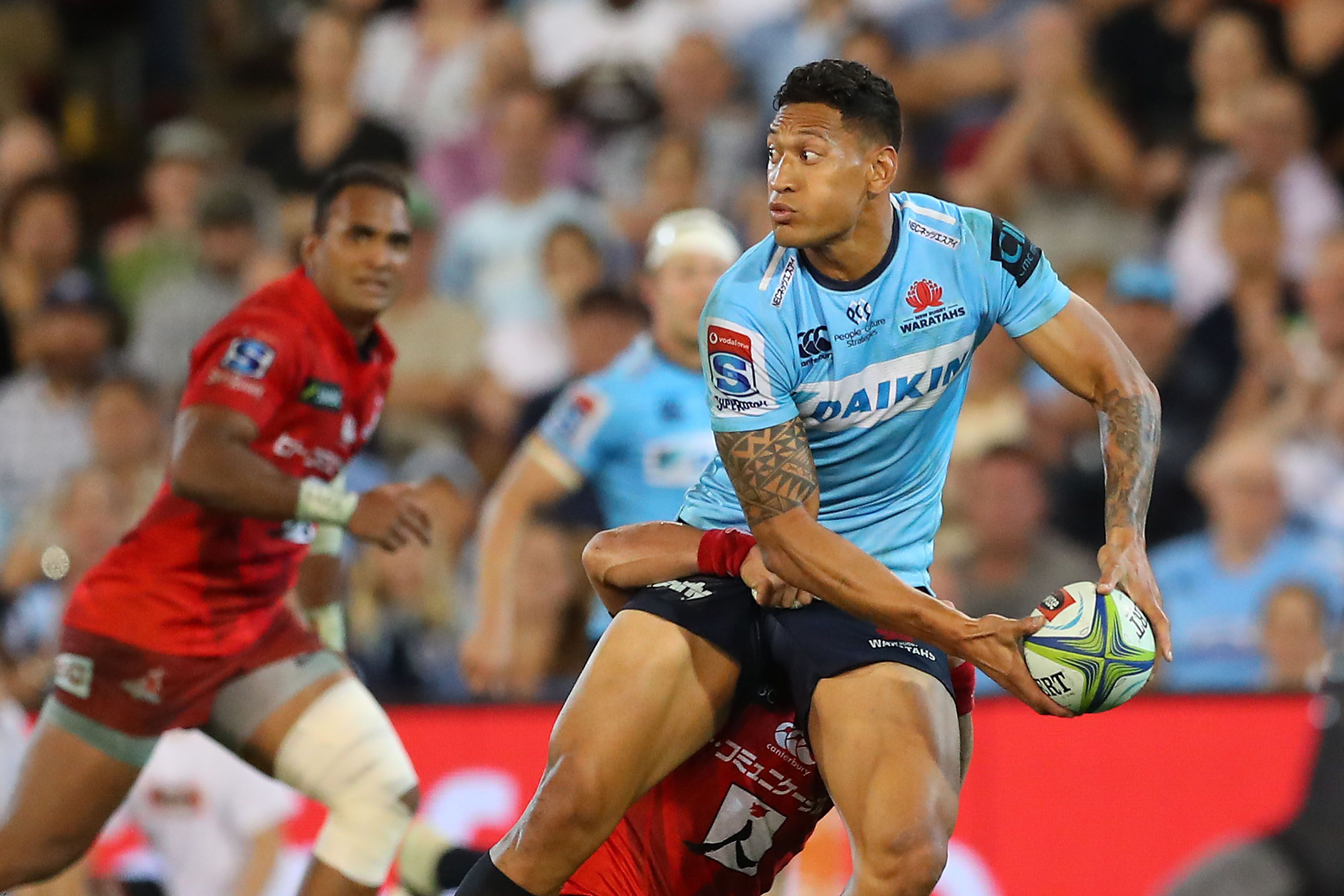 It S Official Israel Folau Fired By Rugby Australia For
