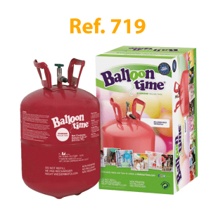 Botella de hélio desechable Standard 0,25m3 – Balloon Time