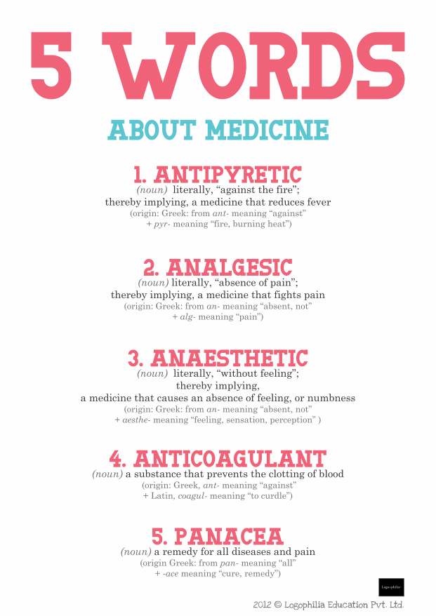words about medicine