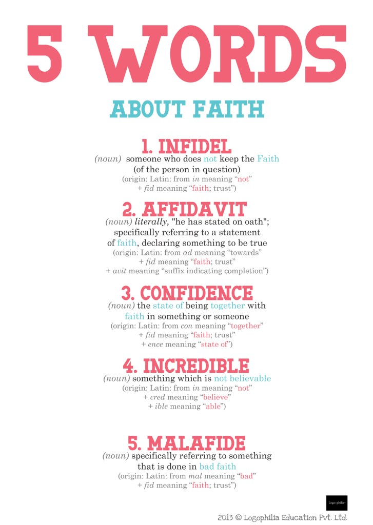 words about faith