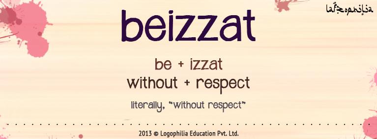 Etymology of beizzat