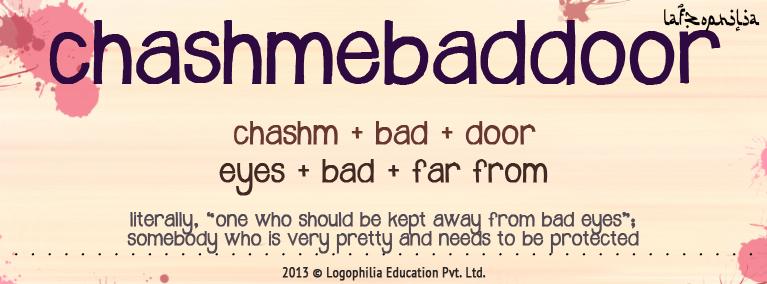 Etymology of Chashmebaddoor