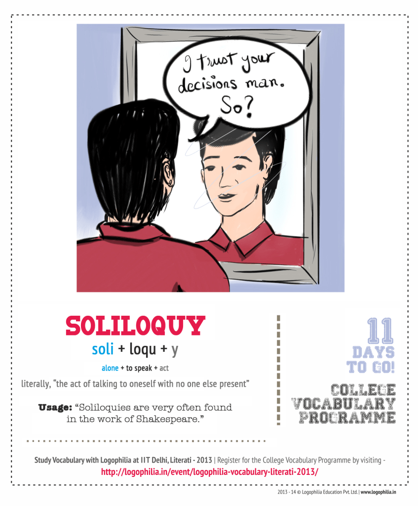 meaning of soliloquy