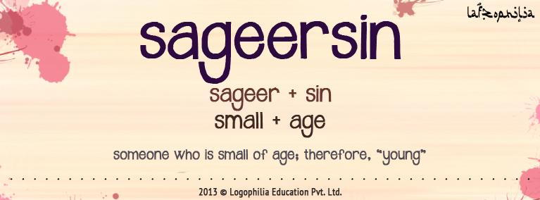 The etymology of the word Sageersin