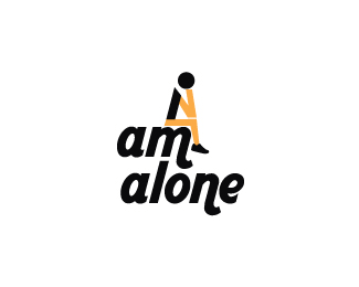 Logopond Logo Brand Identity Inspiration I Am Alone
