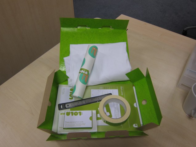 U101 welcome pack contents