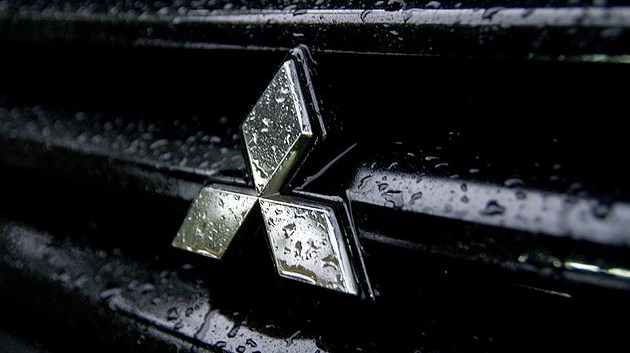 Black Wallpaper Close Up Car Mitsubishi Logos Download