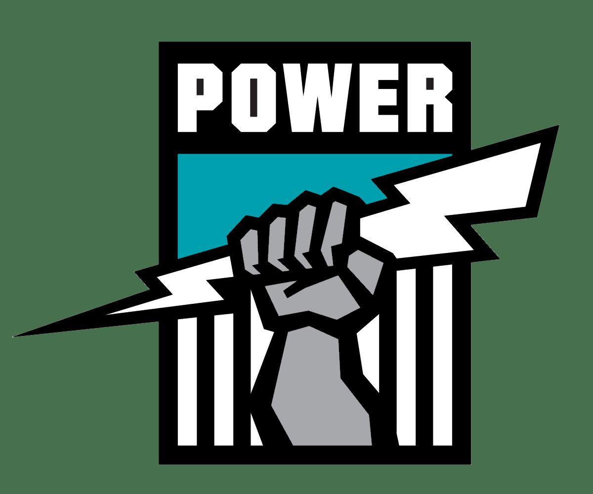 Image result for port adelaide power transparent