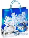 Купить оптом новогодний пакет 23х26 Белло Bello BAS 102