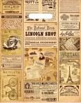 Купить оптом полиэтиленовый пакет Газета 30x40 с прорубной ручкой от Интерпак