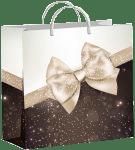 Купить оптом полиэтиленовый пакет Элегия 30x30 из мягкого пластика