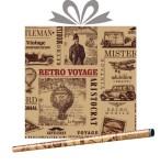 Крафт-бумага Джентльмен, купить оптом в Санкт-Петербурге