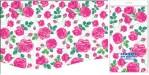 Купить оптом полиэтиленовую скатерть для пикника Розовые розы 120x180 от Интерпак