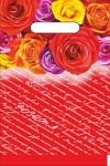 Купить оптом полиэтиленовый пакет Розита 20x30 с вырубной (прорубной) ручкой от Интерпак