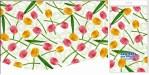 Купить оптом полиэтиленовую скатерть для пикника Солнечные тюльпаны 120x180 от Интерпак