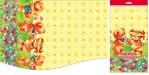 Купить оптом полиэтиленовую скатерть для пикника Медвежата 120х220 от Интерпак