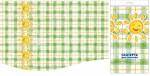 Купить оптом полиэтиленовую скатерть для пикника Солнечный круг 120x180 от Интерпак