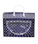 Купить оптом полиэтиленовую сумку пакет Бисер 37х28х10 37х28 с внутренним и внешним карманом