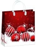Купить оптом новогодний пакет 30х30 Белло Bello BAM 152