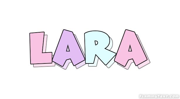 Lara Logo | Free Name Design Tool from Flaming Text