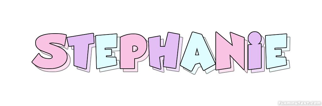 Name Stephanie Cursive