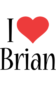 Brian Logo Name Logo Generator I Love Love Heart