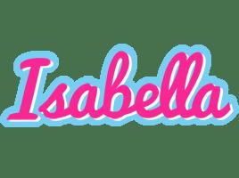 Isabella Logo Name Logo Generator Popstar Love Panda