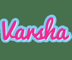 Varsha Logo Name Logo Generator Popstar Love Panda