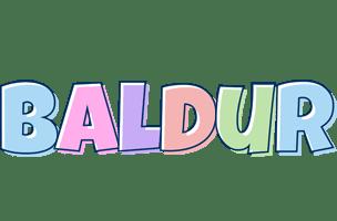 Baldur Logo | Name Logo Generator - Candy Pastel Lager ...