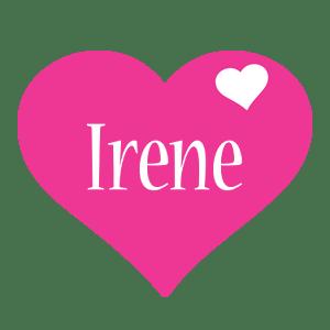Irene Logo Name Logo Generator I Love Love Heart