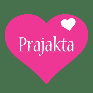 Prajakta Logo Name Logo Generator I Love Love Heart